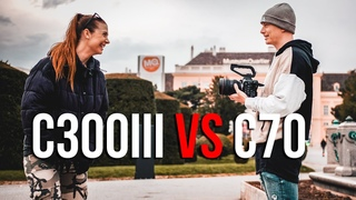 Canon C70 sample footage and comparison to Canon C300 mark III