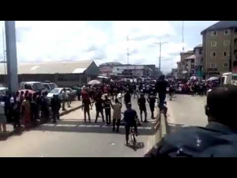Aba Fox street reporter said we must end Nigeria before we can Endsars CityAlertPlus CAPtv