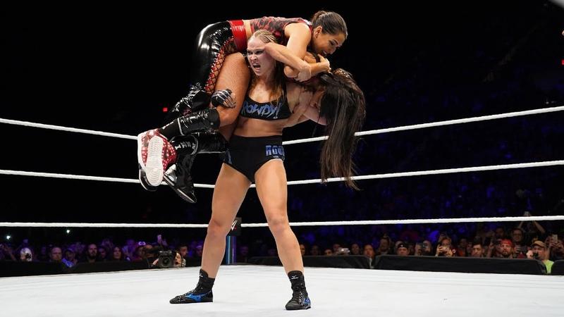 Ronda Rouseys rowdiest rookie year moments WWE Playlist