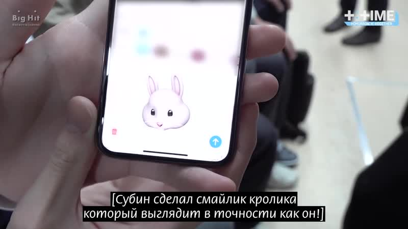 [РУС.СУБ] [RUS.SUB] [TTIME] Смайлик кролика Субина SOOBIN's Rabbit Emoticon [русские субтитры]