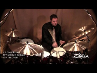 Zildjian Sound Lab - Cymbal Comparison Video - A Zildjian