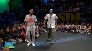 Fabbreezy vs Franky Dee TOP 12 Hiphop Forever - Summer Dance Forever 2019