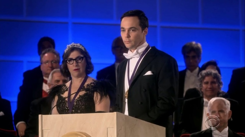 Sheldon and Amy Recieve Nobel Prize Full Speech Final Episode of The Big Bang Theory