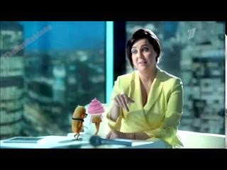 Реклама Орбит 2014 - Ольга Шелест (Ешь, пей, жуй Orbit)