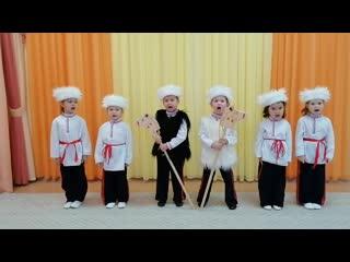 """БДОУ г. Омска """"Детский сад №112""""Песня """"Эх, казачата"""", музыка и слова О.Поляковой."""