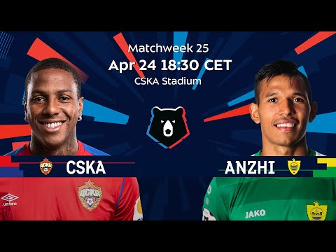 CSKA vs Anzhi Matchweek 25 Russian Premier Liga