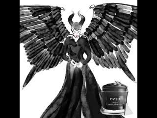 Как считаете, очищающая магнитная маска Uni Skin вписалась бы в уход колдуньи Такая же темная и магически эффективная!