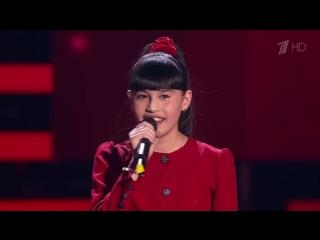 Диана Анкудинова Jodel-time - Слепые прослушивания  Голос Дети  Сезон 4