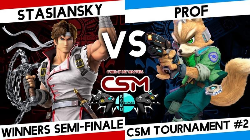 SSBU CSM tournament winners semi finale stasiansky Рихтер vs Prof Фокс