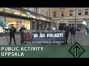 Public activity and speech in Uppsala (English subtitles)
