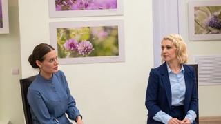 Творческая встреча с актрисами БГАДТ Вероникой Васильевой и Татьяной Макаровой