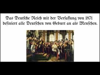 Warum die Deutschen ausgeIöscht werden sollen und warum das Deutsche Kaiserreich so wichtig ist