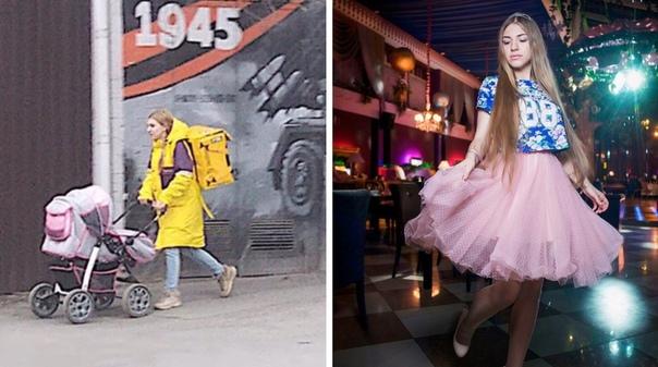 Женщина должна быть в состоянии прокормить детей сама Ростовчанка Лада Королёва прославилась после того, как в прошлом году в сети появилась фотография, на которой девушка в форме компании по