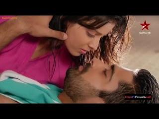 Astha and Shlok Scene - Shlok tries to kiss Astha 27th & 28th January 2014