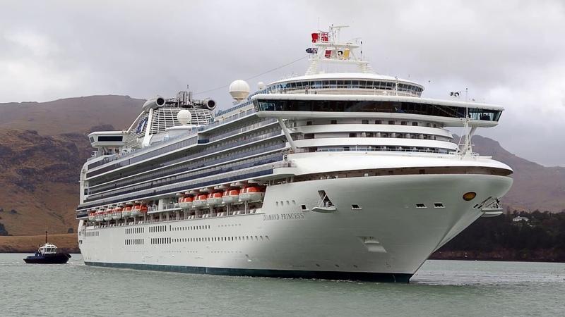 Россиянка заразилась коронавирусом на японском лайнере