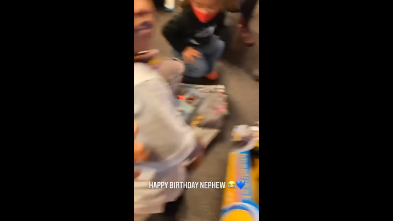 DaBaby's nephew wasn't having it with him 🎂😩😂