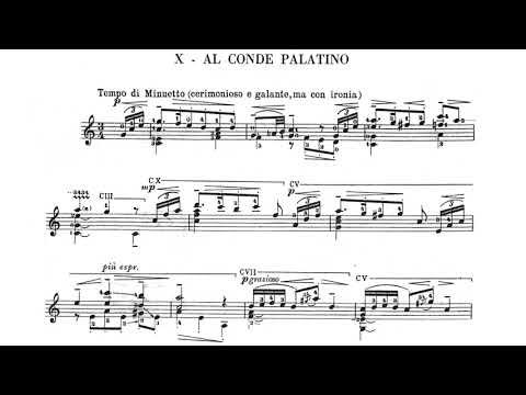 Mario Castelnuovo Tedesco 24 Caprichos de Goya Al Conde Palatino