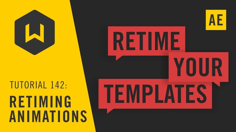 Retiming Animations for Templates Tutorial 142
