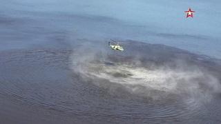 Испытания новых вертолетов Ка-52 «Аллигатор»