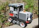 Гусеничный трактор Федя 2 Lego Technic crawler caterpillar tractor