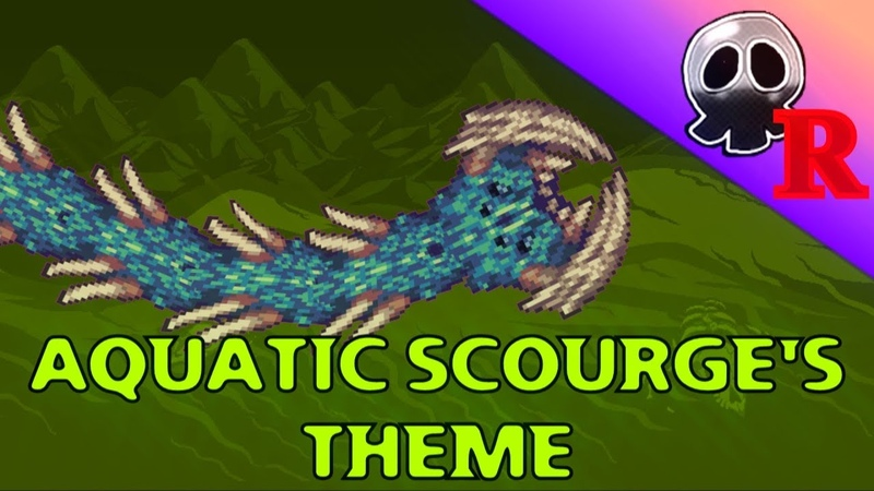 Terraria Calamity Mod Music - Outcast of The Sulphurous Seas - Theme of Aquatic Scourge