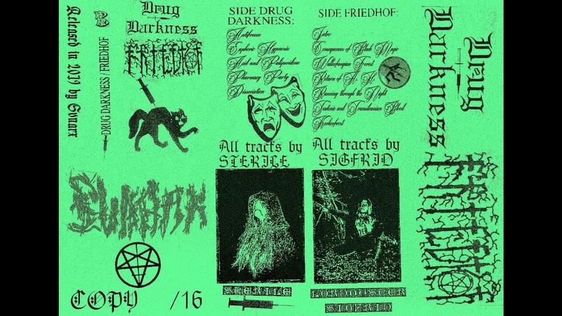 Drug Darkness Friedhof 2019 Raw Black Metal Dark Ambient
