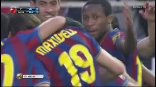Season 2009/2010. Sevilla FC - FC Barcelona - 2:3 (highlights)
