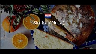 ХОРВАТСКАЯ КУХНЯ: Sirnica (Pinca)/ Хорватская пасхальная сирница (пинца)