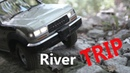 Toyota LC80 Scale River Trip Without Water
