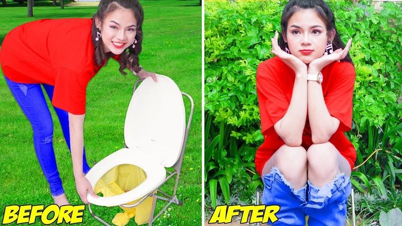 Girl DIY! 23 SMART BATHROOM HACKS YOU CANT MISS! Simple Life Hacks DIY Crafts by T-studio