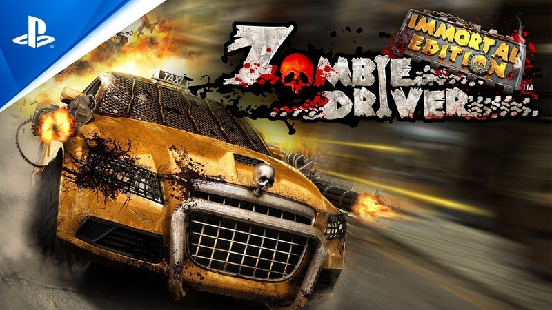 Zombie Driver Immortal Edition Launch Trailer PS4