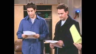 Friends Chandler:Could I be...