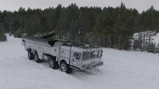 Тренировки расчетов ОТРК «Искандер-М» ЦВО под Екатеринбургом