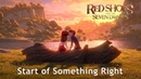 🎵 RED SHOES AND THE SEVEN DWARFS OST 2019 l Start of Something Right Lyric Video Eng HD