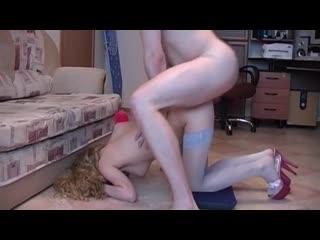 Оля любит трахаться с толстыми членами во все дырки (Русское Домашнее Home Порно Секс Porn Sex) 18+