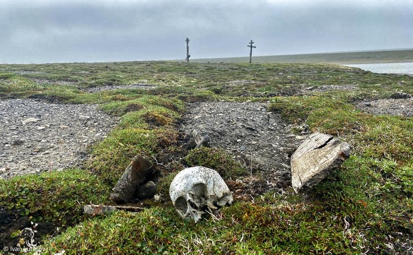 Заброшенное село Хабарово. Часть 1. Гробы на поверхности...