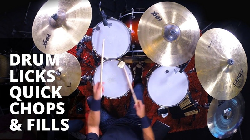 Must Know Drum Licks Quick Chops Fills Triplet Linear and Fast Rich Redmond