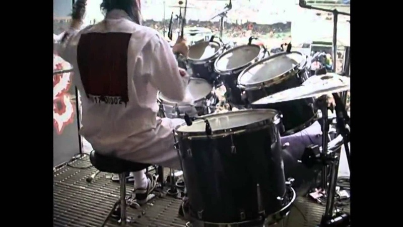 Джои Джордисон (Slipknot – Eyeless) самый быстрый барабанщик.