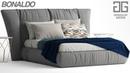 №88 Моделирование кровати Bonaldo YOUNIVERSE в 3d max и marvelous designer