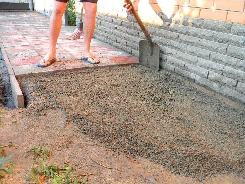 Как правильно положить тротуарную плитку, изображение №3