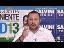 Immigrazione, Salvini (Lega): In Italia non c'è casa e lavoro per tutti. E prima vengono gli