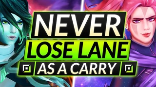 How to NEVER LOSE as a CARRY in  - FARMING, FIGHTING and STOMPING - Dota 2 Anti Mage Guide