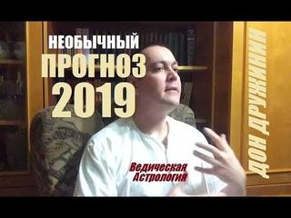 Дон Дружинин   Прогноз на 2019 год. Ведическая Астрология