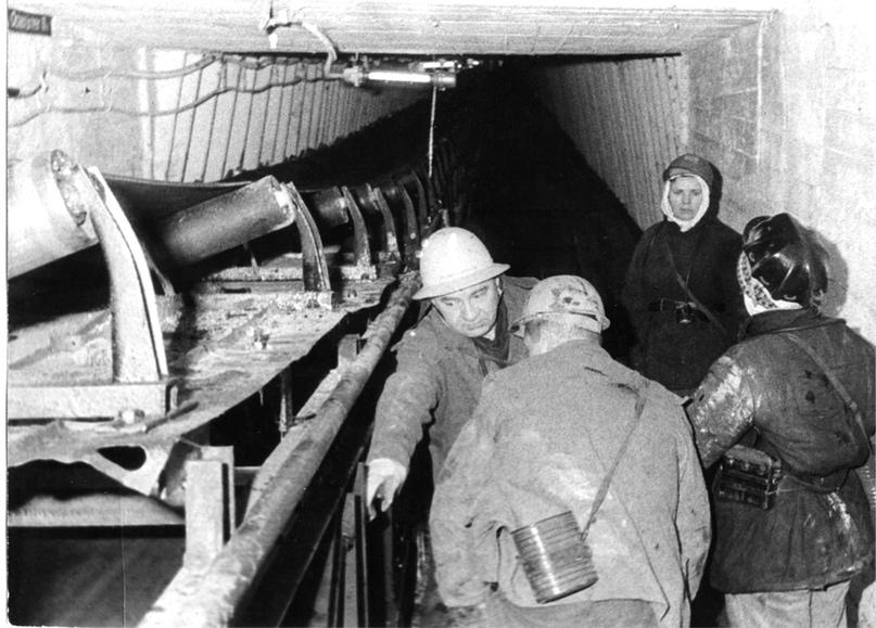 Родионов В. К. — директор шахтоуправления № 2