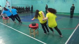 Осужденные женщины из крснотурьинской колонии ИК 16 приняли участие в веселых стартах