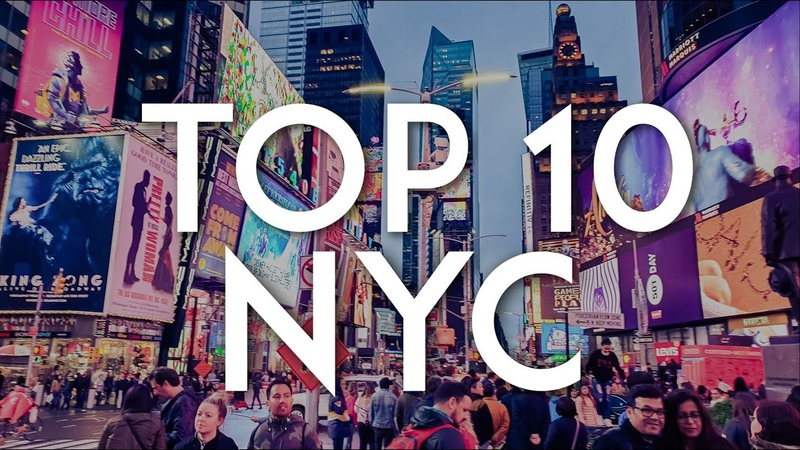 TOP 10 Things to do in NEW YORK CITY NYC Travel Guide 2020