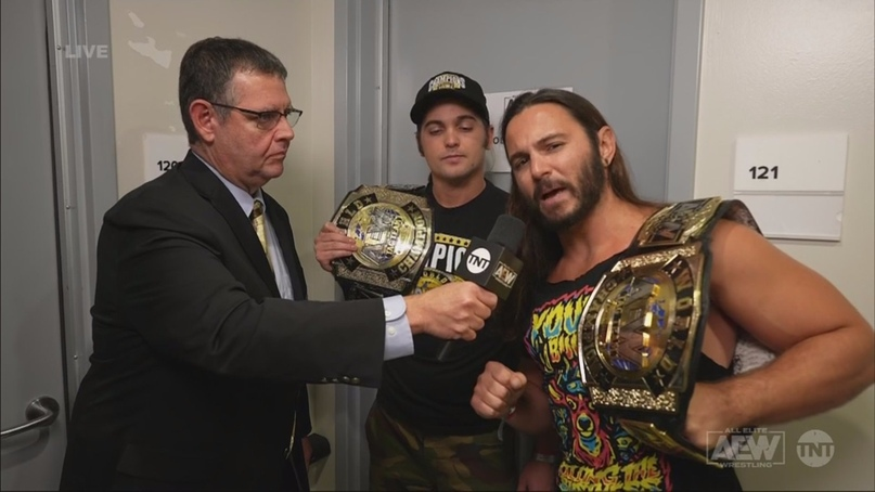 AEW Dynamite и NXT 11.11.20, изображение №7