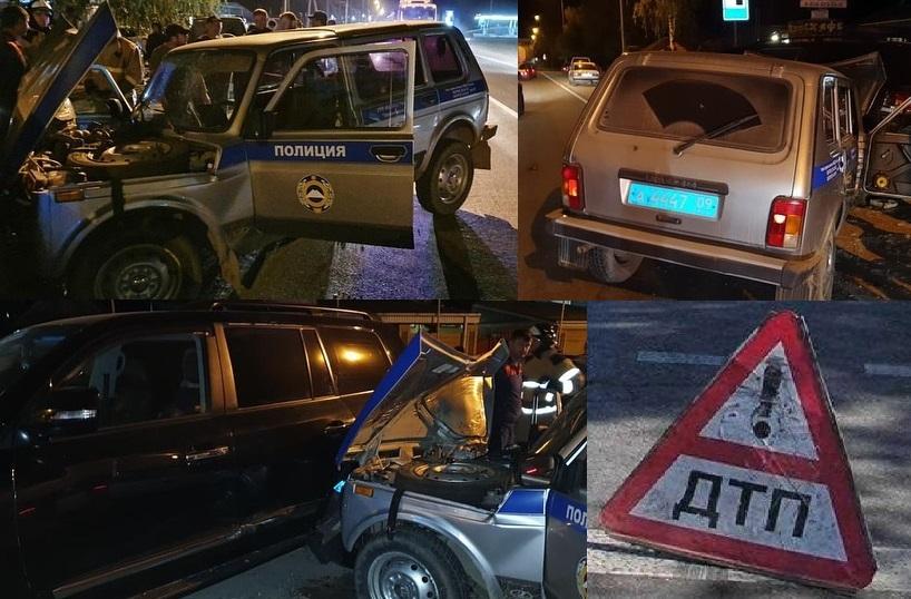 Полицейский разбил две машины в КЧР