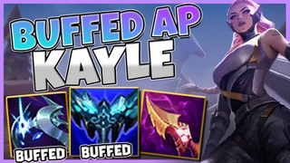 AP Kayle just got BUFFED and feels Amazing at the Moment! - League of Legends