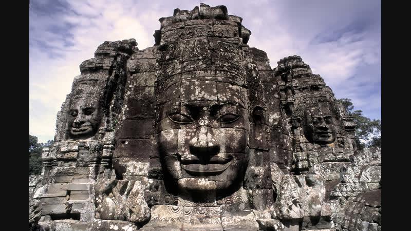 Angkor temple in Cambodia - Храмы Камбоджи : Ангкор Ват ( Angkor Wat ) Ангкор Тхом - Байон - Bayon и т.д.